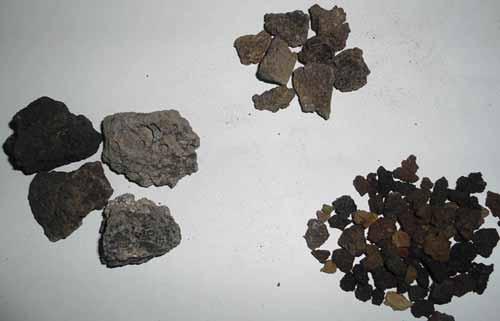 مراحل تولید پوکه معدنی